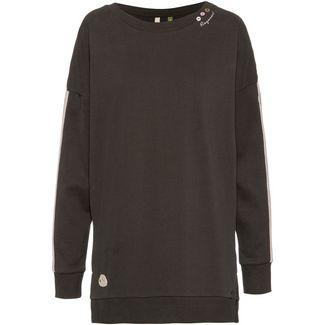 Ragwear Lekyta Solid Organic Sweatshirt Damen green