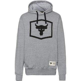 Under Armour Project Rock Warmup Hoodie Herren grey