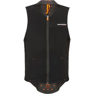 KOMPERDELL Air Vest Men Protektorenweste Herren schwarz-orange
