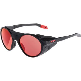 Oakley Clifden Sportbrille matte black with prizm snow torch
