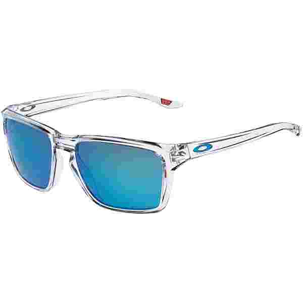 Oakley Sylas Sonnenbrille polished clear with prizm sapphire