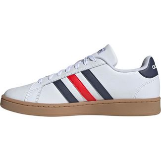 adidas Grand Court Sneaker Herren ftwr white-trace blue f17-active red