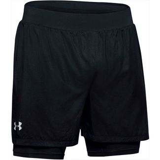 Under Armour Qualifier Laufhose Herren black