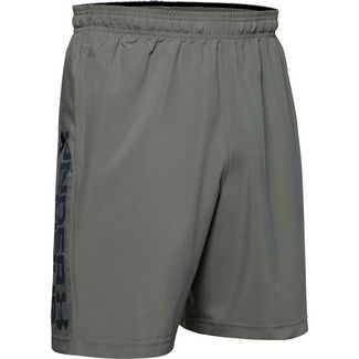 Under Armour Woven Wordmark Funktionsshorts Herren gravity green