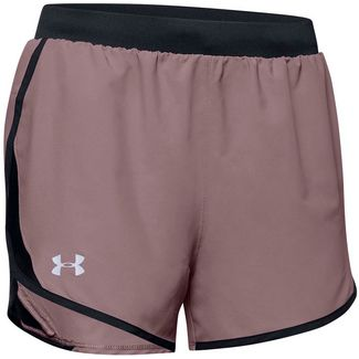 Under Armour Fly By 2.0 Laufshorts Damen hushed pink