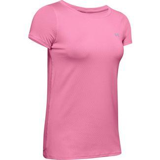 Under Armour HeatGear Funktionsshirt Damen pink