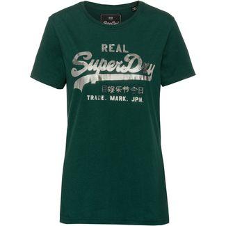 Superdry T-Shirt Damen green