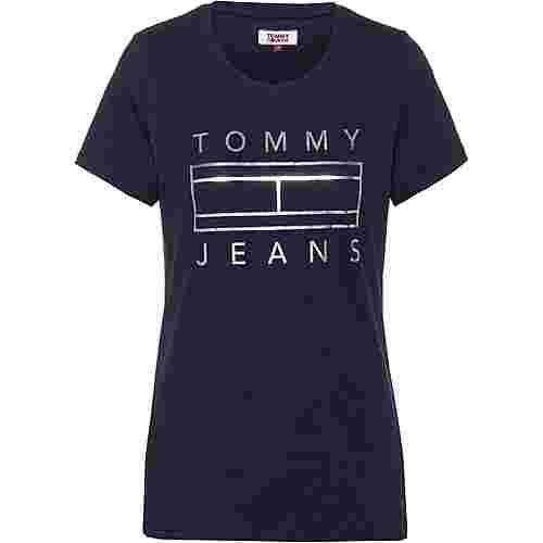 Tommy Jeans T-Shirt Damen black iris