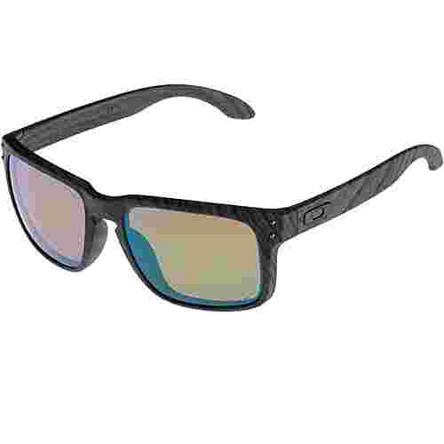 Oakley Holbrook Sonnenbrille woodgrain with prizm shallow h2o polarized
