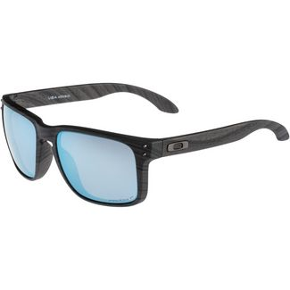 Oakley Holbrook XL Sonnenbrille woodgrain with prizm deep h2o polarized