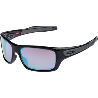 Oakley Turbine Sonnenbrille polished black with prizm snow sapphire