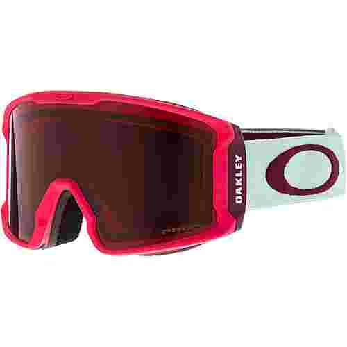 Oakley Line Miner XM Prizm Torch Iridium Skibrille Damen strong red jasmine