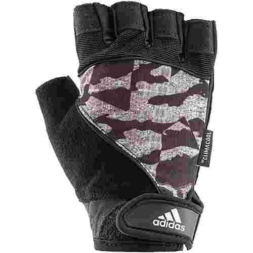 adidas Fitnesshandschuhe schwarz-grau