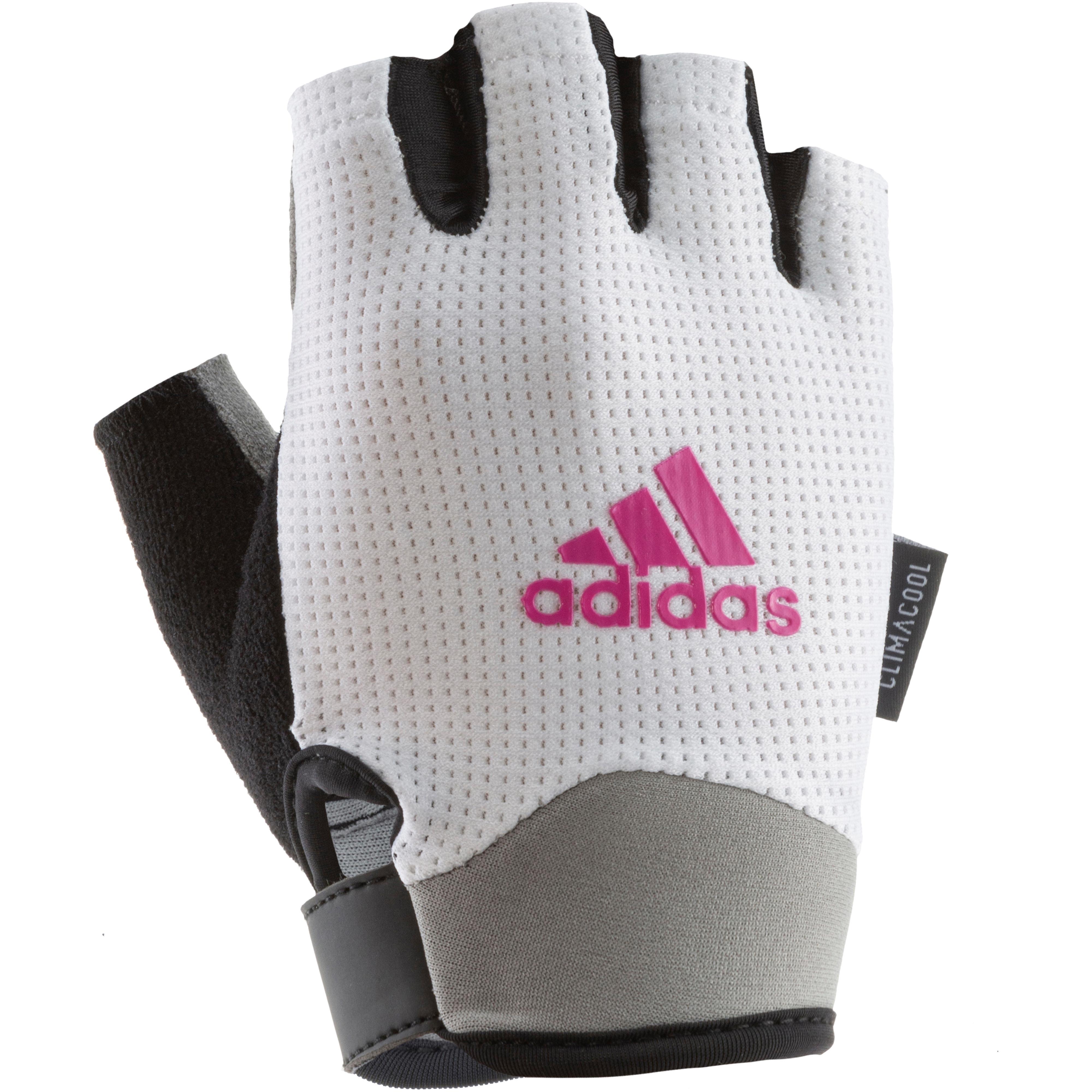 adidas Fitnesshandschuhe Damen weiß im Online Shop von SportScheck kaufen