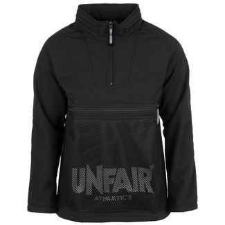 Unfair Athletics Softshell Halfzip Sweatshirt Herren schwarz