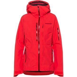 Norrøna GORE-TEX® Lofoten Skijacke Damen crisp ruby