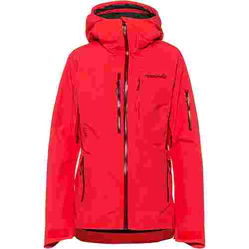 Norrøna Lofoten Skijacke Damen crisp ruby