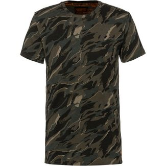 Superdry Rookie T-Shirt Herren green camo