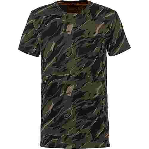 Superdry Rookie T-Shirt Herren green camo