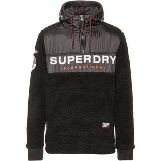 Superdry Hoodie Herren black marl