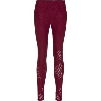 Onzie SELENITE MIDI Tights Damen burgundy