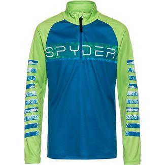 Spyder Peak Layerlangarmshirt Kinder old-glory