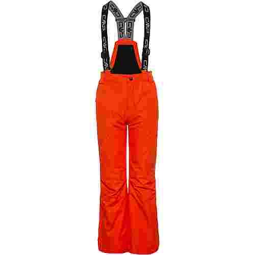 CMP Salopette Skihose Kinder red orange