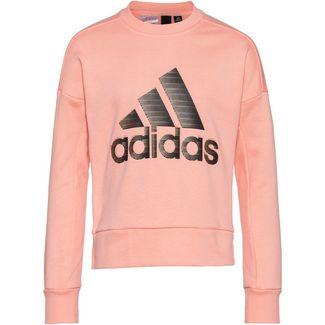 adidas Holiday Sweatshirt Kinder glow-pink