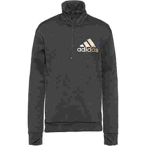 adidas Holiday Sweatshirt Kinder dark-grey-heather