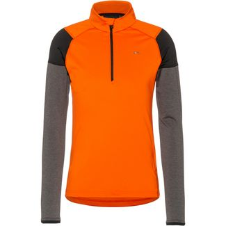 KJUS Race Funktionsshirt Herren kjus orange-steel-melange
