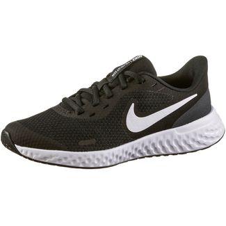Nike Revolution 5 Fitnessschuhe Kinder black-white-anthracite