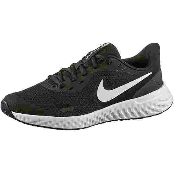 Nike Revolution 5 Laufschuhe Kinder black-white-anthracite