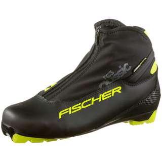 Fischer RC3 CLASSIC Langlaufschuhe schwarz-gelb