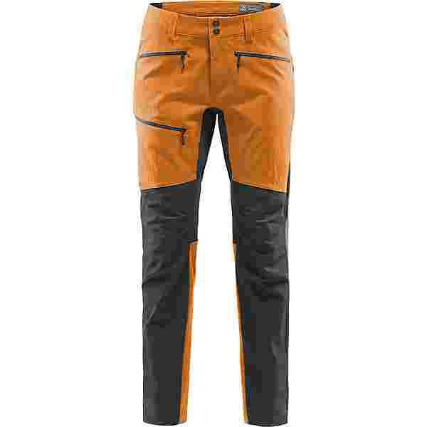 Haglöfs Rugged Flex Pant Trekkinghose Herren Desert Yellow/True Black