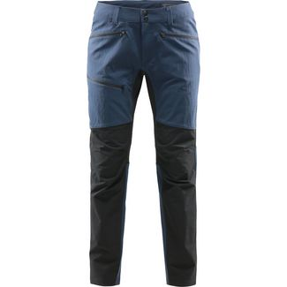 Haglöfs Rugged Flex Pant Wanderhose Damen Tarn Blue/True Black