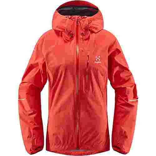 Haglöfs L.I.M Jacket Hardshelljacke Damen Hibiscus Red