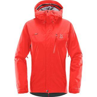 Haglöfs GORE-TEX® Astral Jacket Wanderjacke Damen Real Red