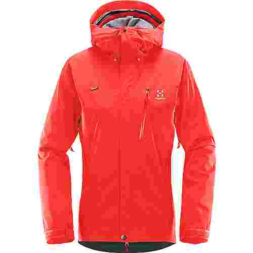 Haglöfs GORE-TEX® Astral Jacket Hardshelljacke Damen Real Red