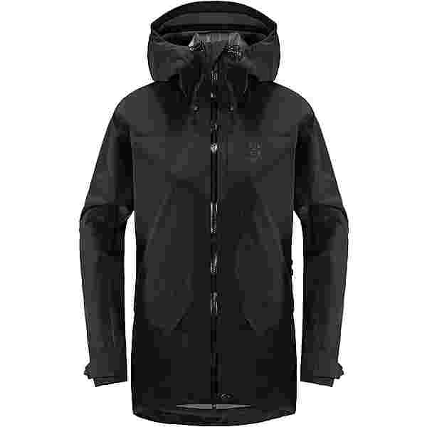 Haglöfs Grym Evo Jacket Hardshelljacke Damen True Black