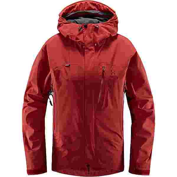 Haglöfs GORE-TEX Astral Jacket Hardshelljacke Damen Brick Red