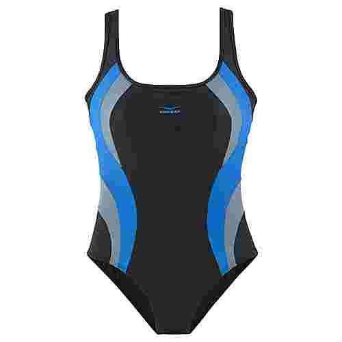 VENICE BEACH Badeanzug Damen schwarz-blau