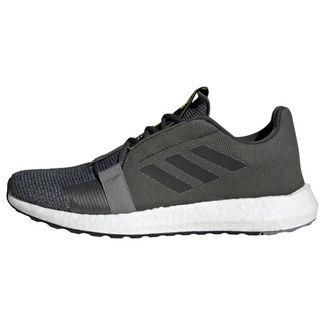 adidas Sneaker Herren Grey Six / Core Black / Solar Yellow
