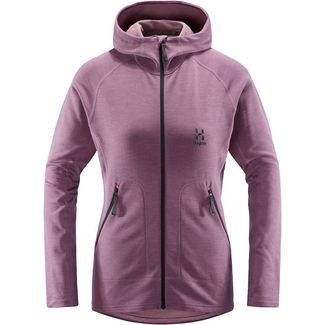 Haglöfs Heron Hood Snowboardjacke Damen Purple Milk