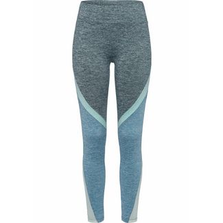 LASCANA Active Tights Damen petrol-mint-meliert