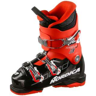Nordica SPEEDMACHINE J 3 Skischuhe Kinder black-red