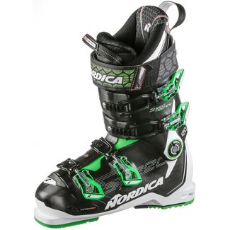 Nordica SPEEDMACHINE 120 Skischuhe Herren black-white-green