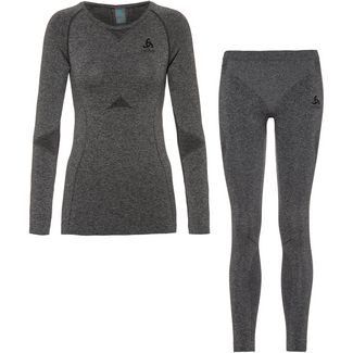 Odlo Performance Evolution Wäscheset Damen grey melange