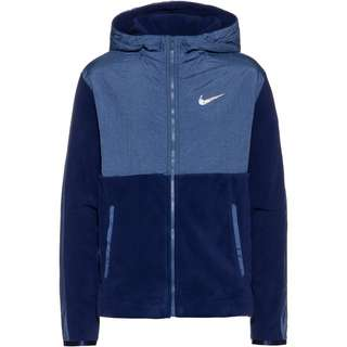 Nike Therma Trainingsjacke Kinder blue-void-mystic-navy