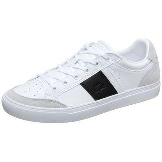 Lacoste Courtline Sneaker Herren weiß / schwarz