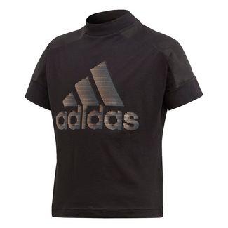 adidas T-Shirt Kinder Schwarz